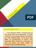 Ang Saligang Batas ng Pilipinas