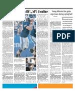 Reynolds Reflects on BYU, NFL Combine