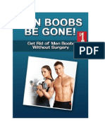 #1 Male Doctor Recommended ManBoobs Be Gone book