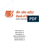 Book Report Bank of Baroda