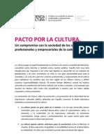 Pacto Por La Cultura