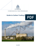 Interpol's Guide to Carbon Trading Crime