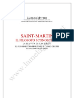 Matter Jacques Saint Martin Il Filosofo Sconosciuto