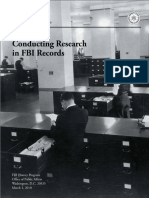A Guide to Conducting Research in FBI Records PDF