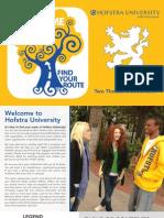 Welcome Week Brochure 2013