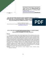 RATONES MODIFICADOS GENÉTICAMENTE. REGULACIÓN DEL CYP450. APLICACIONES EN FARMACOLOGÍA Y TOXICOLOGÍA