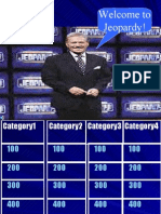 Review for Final #1 Sem II Jeopardy Review
