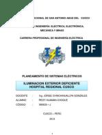 Informe Tecnico Hospital Regional Cusco