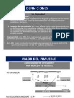 Valor Del Inmueble 2012