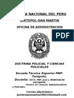 Asignatura Doctrina Policial 2013