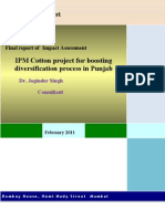 RGR Cotton IPM Project Impact Assessment Report