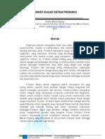 Proposal Kerja Praktek - Konsep Dasar Sistem Produksi