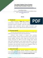 Laporan Akhir Praktikum Sistem Produksi-Lab. Universitas Mecu Buana (Rudini,dkk) 2012