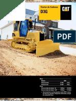 Catalogo Tractor Cadenas d3g Caterpillar