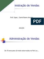 Administração de Vendas 2013