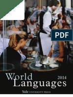 Yale University Press 2014 Language Catalog