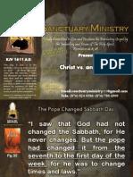 Christ vs Antichrist