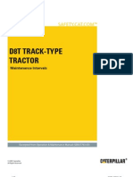 D8T Track-Type Tractor-Maintenance Intervals