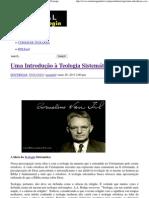 Uma Introdução à Teologia Sistemática _ Portal da Teologia.pdf