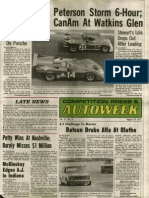 This week in Autoweek 1971