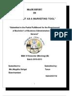 Internet Marketing Full Project Report