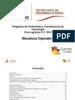 Operatividad de Fertilizante