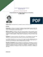 9. Comportamiento de La Enfermedad Diarreica en Costa Rica
