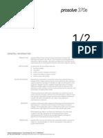 Prosolve370e 130304 Ee_data Sheet