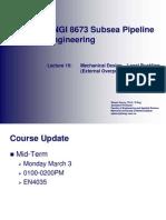 10 - Mechanical Design - Local Buckling (External Overpressure) Part1