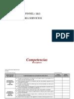 Descriptores Competencias Pinnel