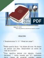 AYUNO Y ORACIÓN 1ra y 2da part (Oscar gómez)