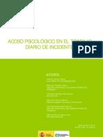 Acosopsicologico en El Trabajo.diario de Incidentes