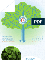 Minnesota Computers for Schools 2012 Annual Report