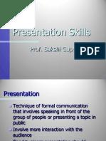 Presentation Skills Class 1&2