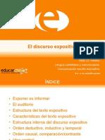 Lenguaje Discurso_expositivo[1] Prof.angelica ZAmudio