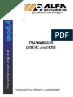 Transmissor de Peso Mod4352