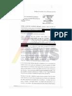 Queja vs Senador Francisco Dominguez