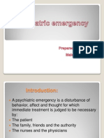 Psychiatric Emergency