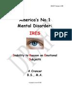 America's No 1 Mental Disorder Version 1.1