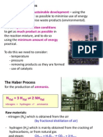 IGCSE Chemistry - Industrial Processes
