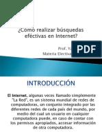 Busquedas en El Internet