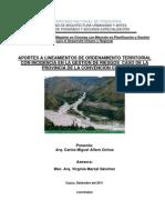 Aportes a Lineamientos de Ordenamiento Territorial Con Incidencia en La Gestion de Riesgos Caso de La Provincia de La Convencion CUSCO