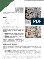 Diaclasa - Wikipedia, La Enciclopedia Libre