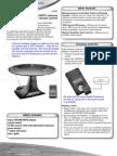 User manual Radioshack 15-1892 Indoor VHF/UHF/HDTV Antenna with RF Remote Control 2131034