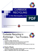 Curbside Recycling for Anchorage, Alaska