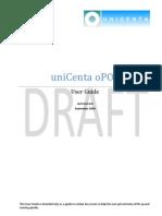 Unicenta User Guide