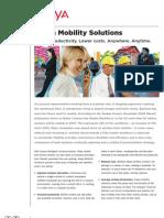 Avaya Mobility Solutions