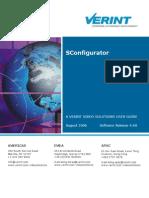 SConfigurator User Guide