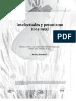 Intelectuales y Peronismo