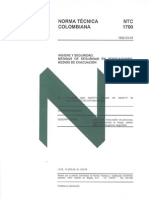 Norma NTC 1700